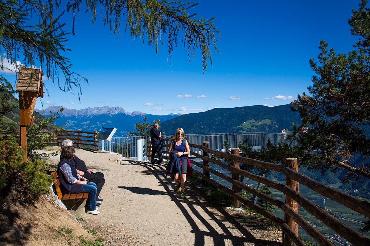 Klettersteig Naturns Knott : Seilbahn unterstell in naturns südtirol